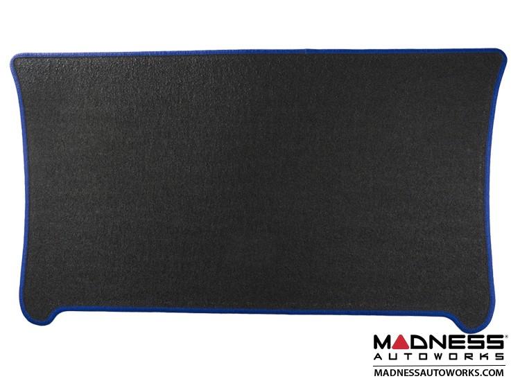 smart fortwo Cargo Mat - 453 - Carpet w/ Blue Binding