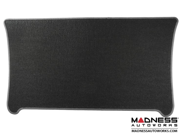 smart fortwo Cargo Mat - 453 - Carpet w/ Silver Binding