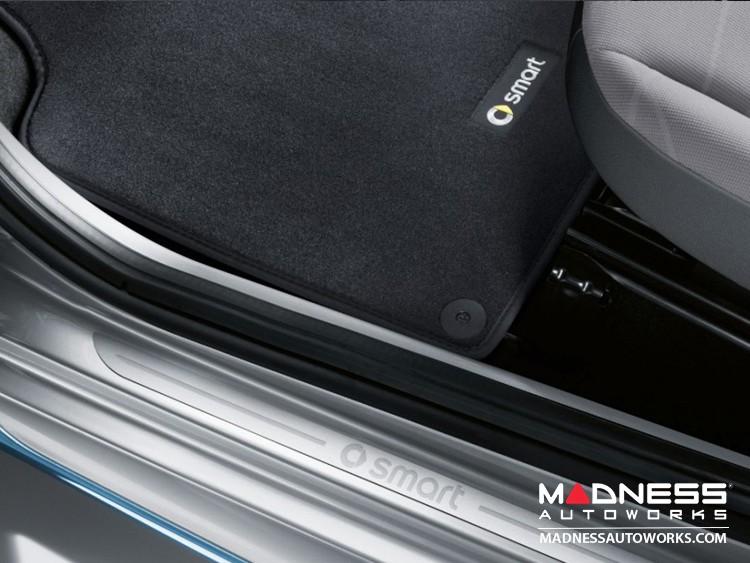 smart fortwo Floor Mats - 451 model - Velour - Genuine smart