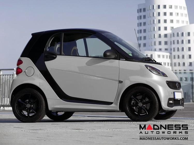 smart fortwo Fuel Door - 451 model - Silver