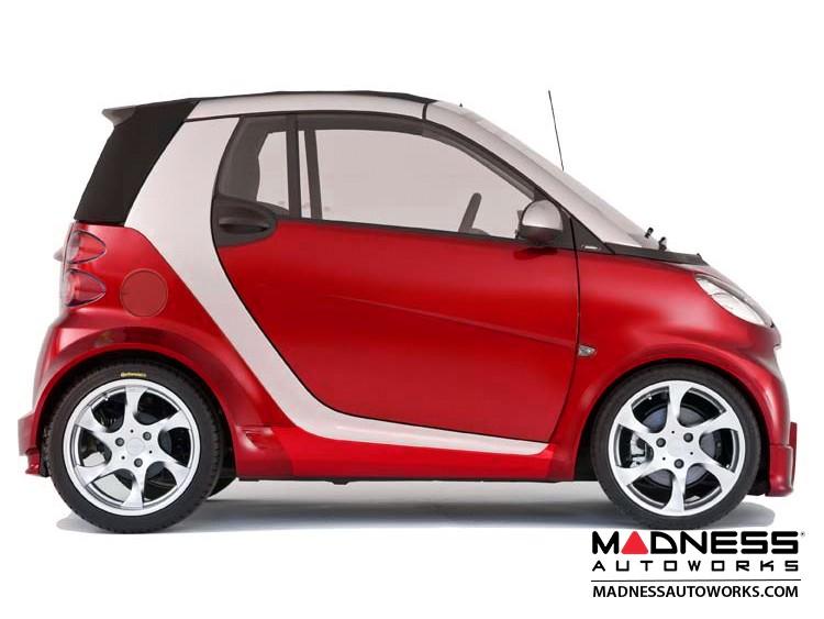 smart fortwo Fuel Door - 451 model - 2007-2008 Red