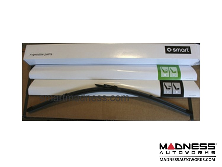 smart fortwo Windshield Wipers - 451 Model - Front Set (2) - Genuine smart