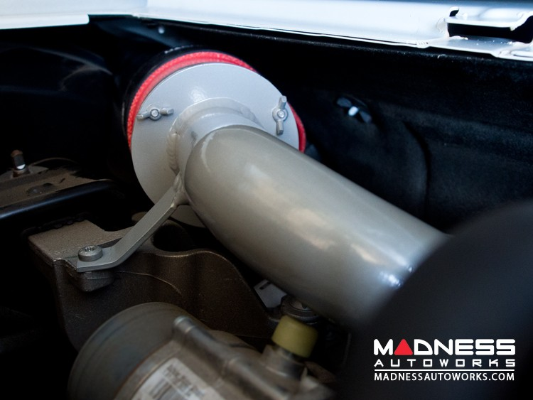 smart fortwo Cold Air Intake by MADNESS - 451 model - Induction Tube Upgrade