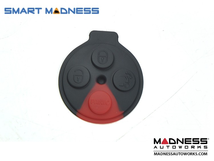 smart fortwo Keyfob Replacement Part - Rubber Pad - 451 Model