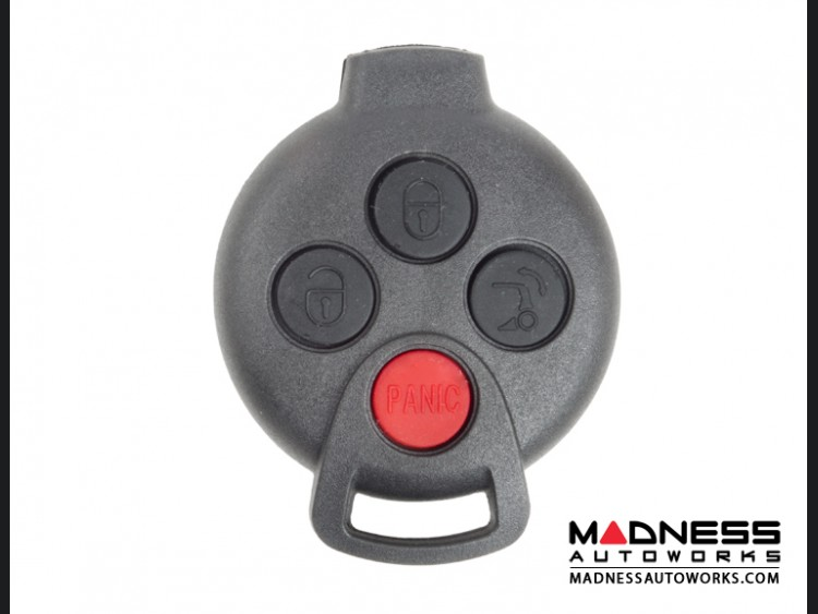 smart fortwo Keyfob Replacement Part - Remote Control Key Complete Assembly  - 451 Model