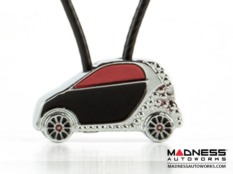 smart fortwo Keychain - Silhouette Design