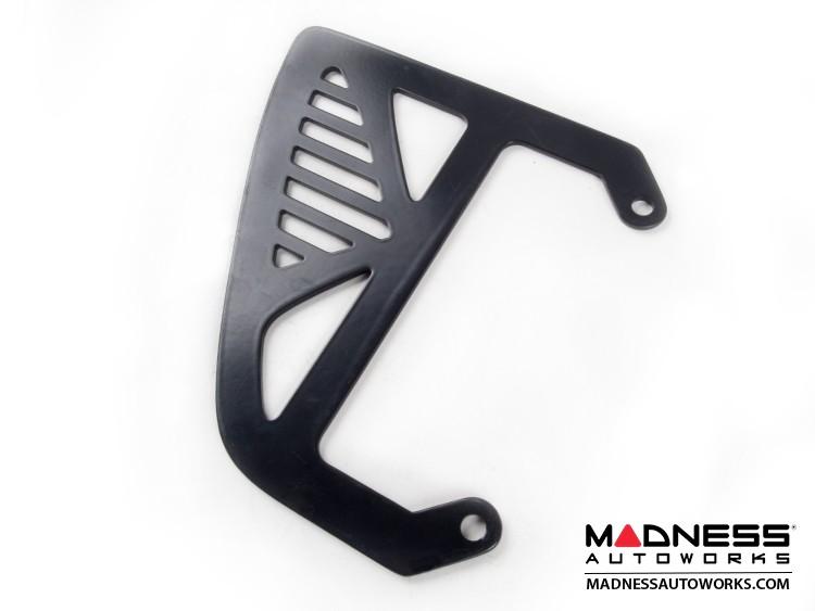 smart fortwo Custom License Plate Frame - Line - Black