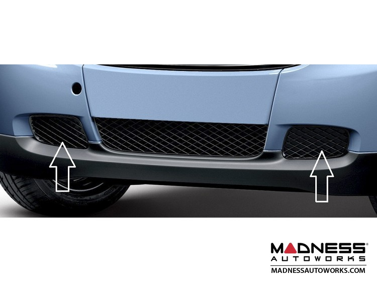 smart Lower Grill Covers (left and right sides) - No Fog Lights