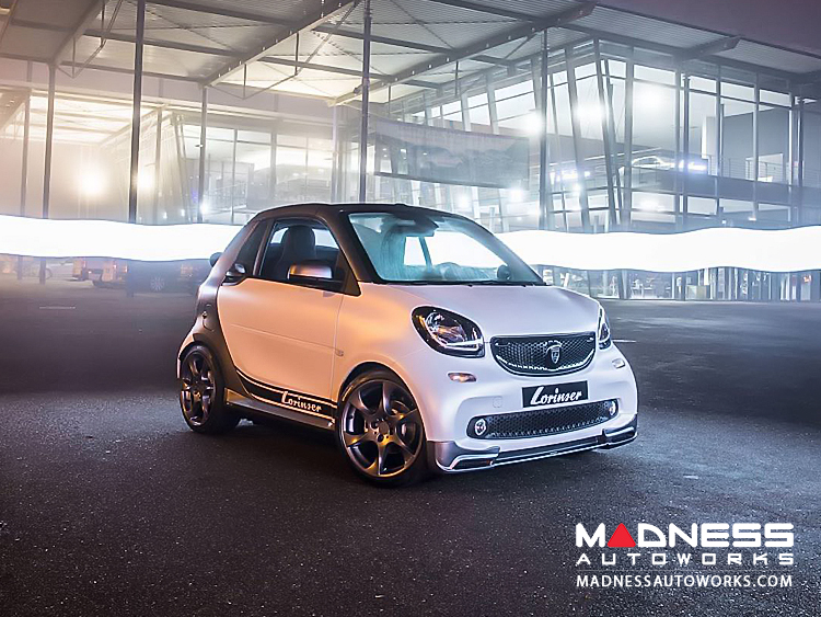 smart fortwo - Complete Styling Kit w/ Wheels - 453 model - Lorinser - Brilliant Silver Finish