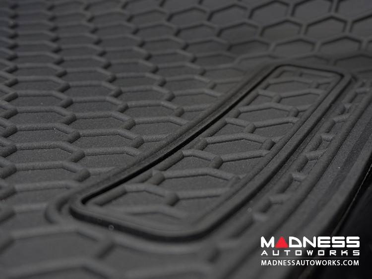 smart fortwo Floor Mats - All Weather Rubber - 451 model - Deluxe Version