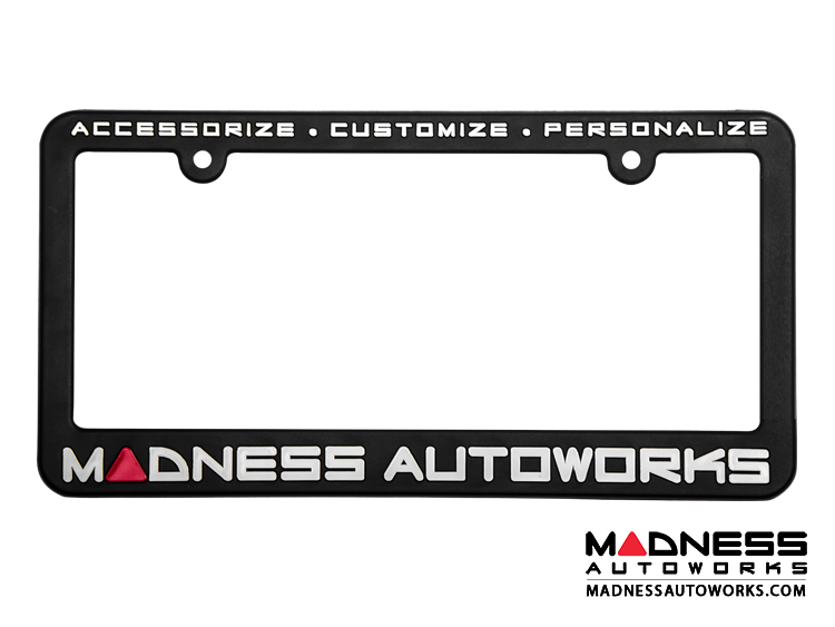 MADNESS Autoworks License Plate Frame (x1)