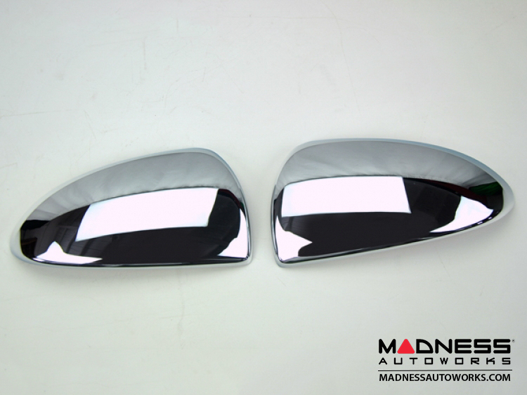 smart fortwo Mirror Covers - 451 - Chrome