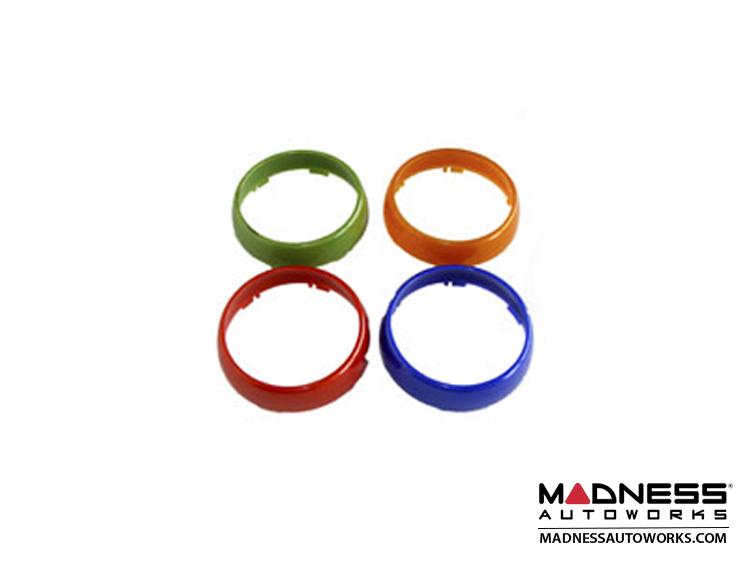 smart fortwo Pod Rings (2) - 450 Model - Orange