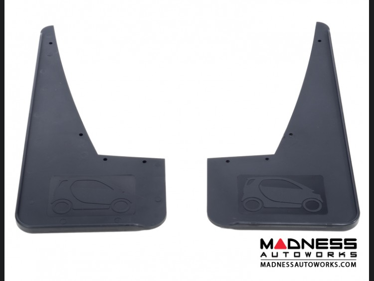 smart fortwo Mudflaps (set of 2 front) - smart Silhouette Design