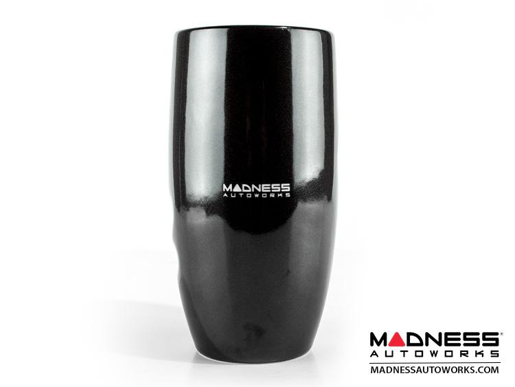 MADNESS Hand Grip Double Wall Ceramic Mug 12 oz