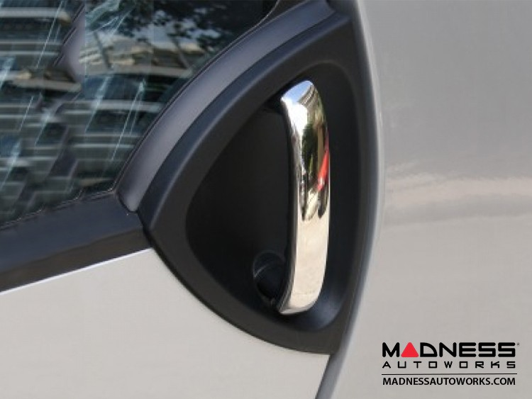 smart fortwo Door Handle Trim Kit - 450 Model - Polished Stainless Steel