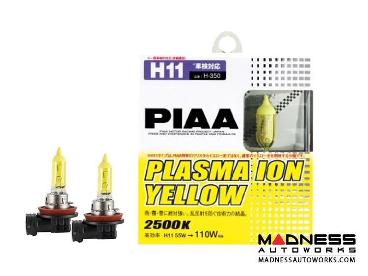 smart fortwo Light Bulb Set - 451 model - H11 Plasma Ion Yellow - PIAA
