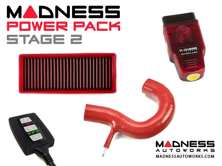smart fortwo MADNESS Power Pack - 451 model - Stage 2