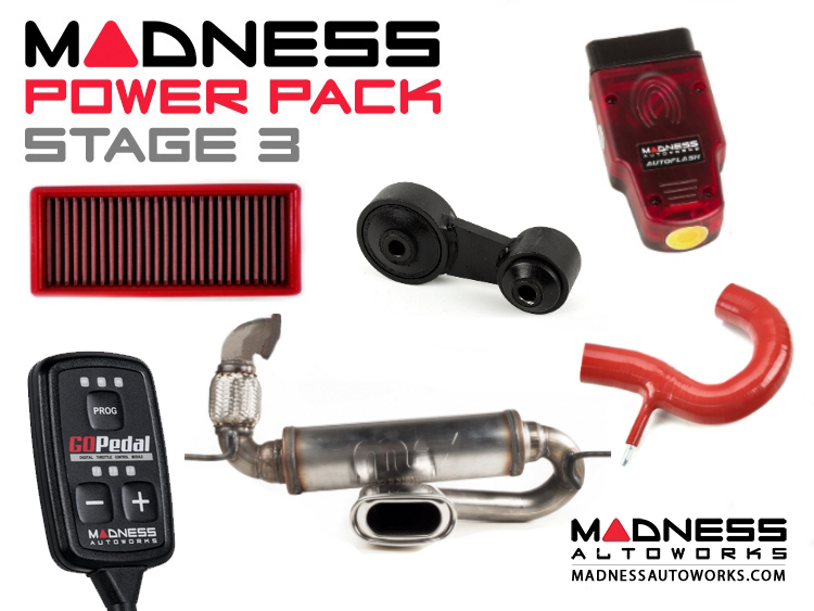 smart fortwo MADNESS Power Pack - 451 model - Stage 3
