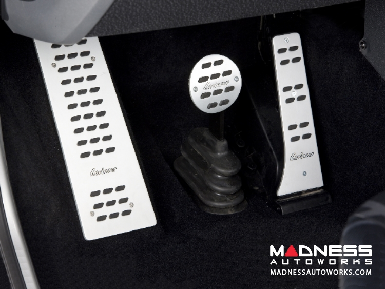 smart fortwo Pedal Set + Footrest by Lorinser - 451 model