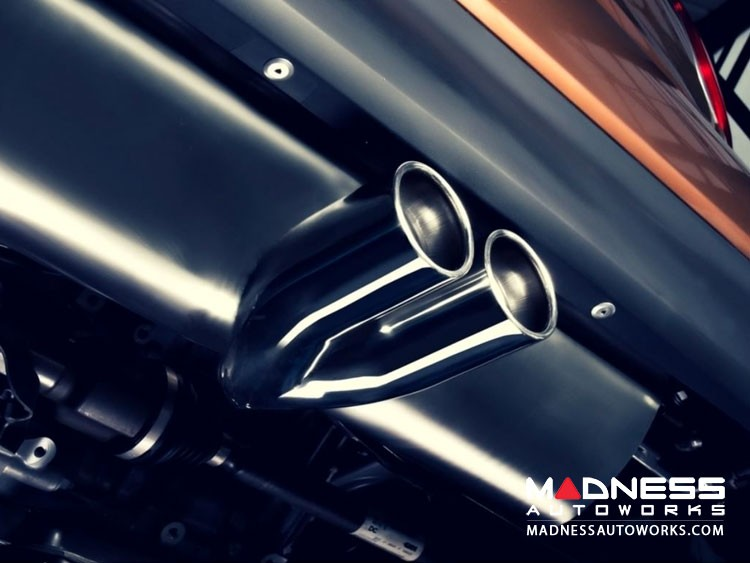 smart fortwo Performance Exhaust - 453 - Ragazzon - Top Line - Center Exit / Dual Tip