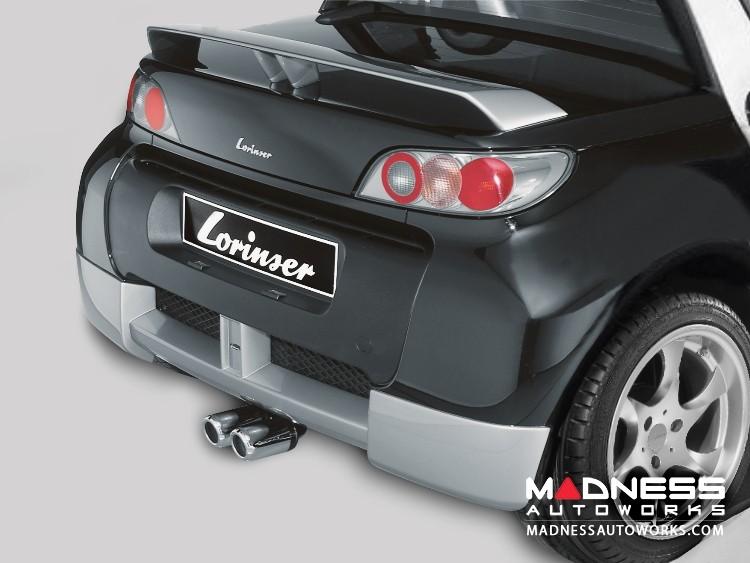 smart Roadster 452 Rear Bumper by Lorinser