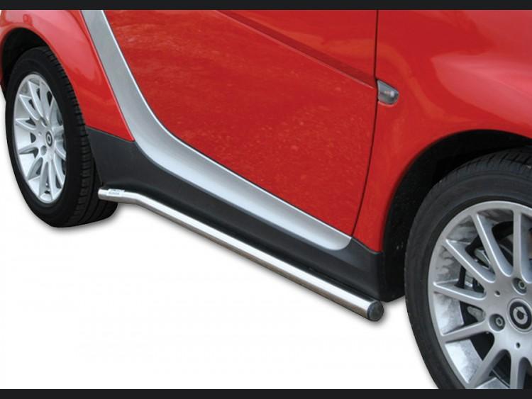 smart fortwo Side Rails - 451 model - Chrome