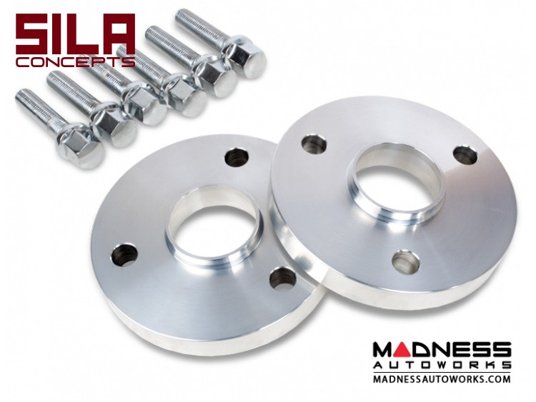 smart fortwo Wheel Spacers - 450/ 451 - 20mm - SILA Concepts - w/ bolts