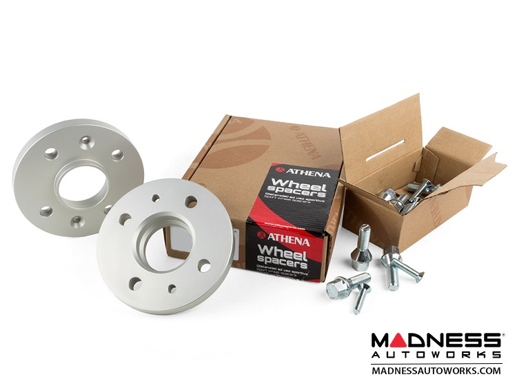 smart fortwo Wheel Spacers - 453 Model - 17mm - Athena - w/ bolts