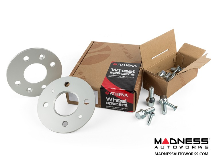 smart fortwo Wheel Spacers - 453 - 5mm - Athena - w/ bolts