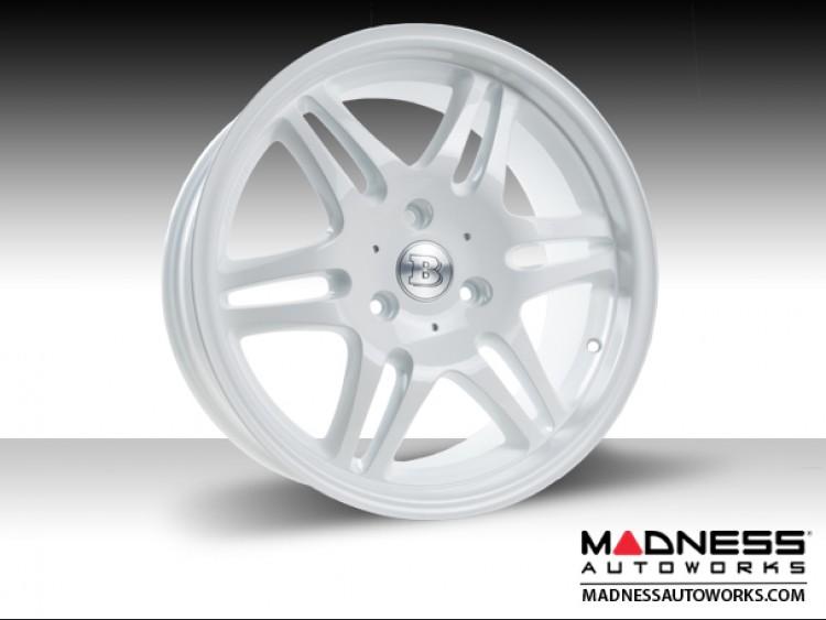 "smart fortwo Custom Wheels - BRABUS - Monoblock VI - 16""/ 17"" - Gloss White"