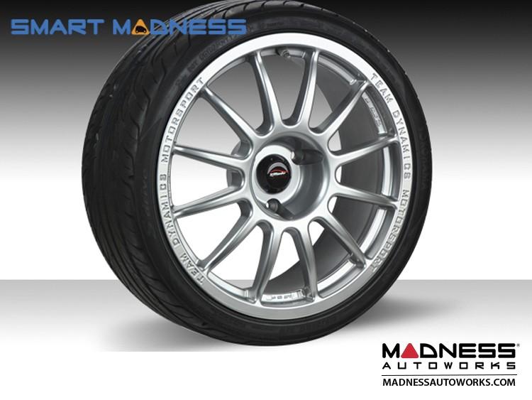 "smart fortwo Team Dynamics 17"" Pro Race 1.2 - 451 model - Matte Black Finish"