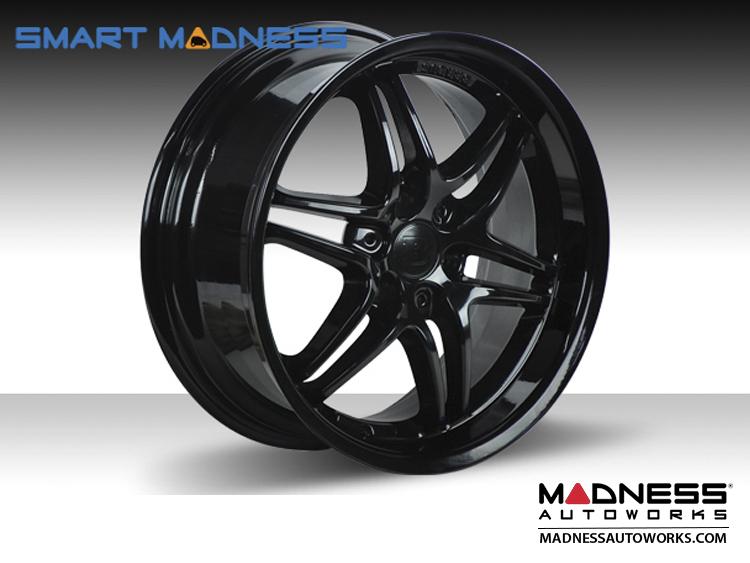 "smart fortwo Custom Wheels - BRABUS - Monoblock VII - 15"" - Gloss Black"