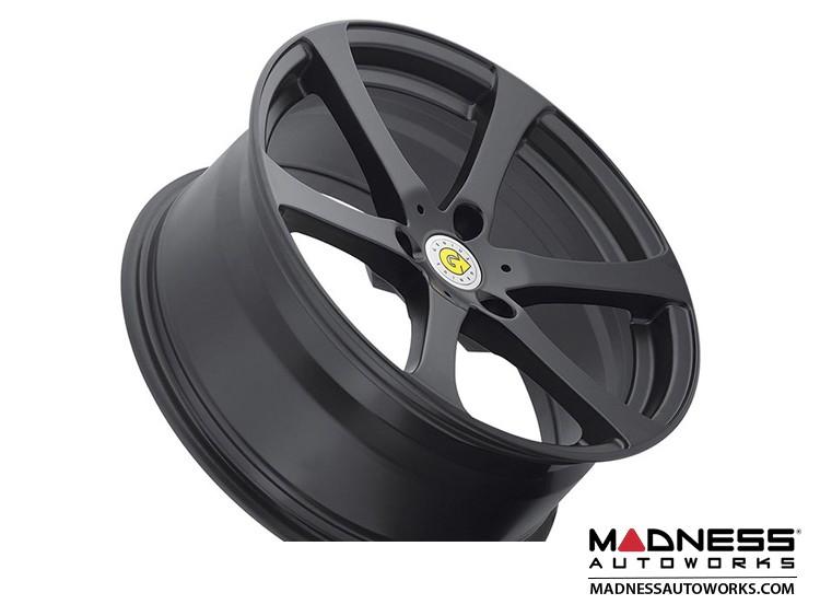 "smart fortwo Custom Wheels - 451 model - Genius 17"" - Newton - Satin Black (4)"